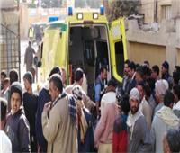 إصابة3 أشخاص في انقلاب سيارة بالطريق الزراعي بالبحيرة