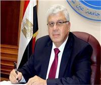 نائب وزير التعليم العالي يتفقد الجامعة التكنولوجية بالقاهرة الجديدة