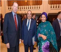 بالصور| البنك الدولي يكرم محمود محيي الدين بعد نهاية عمله