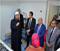 وزير الأوقاف يفتتح المرحلة الثالثة من تطوير مستشفى الدعاة بمصر الجديدة