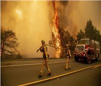 مصابون في حريق بمدرسة أمريكية نتج عن تسرب وقود من طائرة