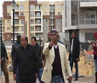 صور  قيادات الإسكان يتفقدون عددا من مشروعات الطرق بمدينة القاهرة الجديدة