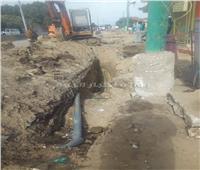 مصرع عامل أثناء أعمال حفر الصرف الصحي بالعياط