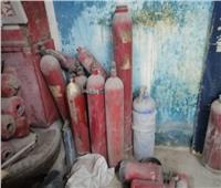 مباحث القاهرة تضبط مدير مصنع طفايات حريق لصناعة منتجات بدون ترخيص