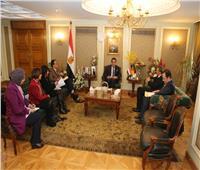 وزير التعليم العالي والسفير الألماني بالقاهرة يبحثان آليات التعاون العلمي