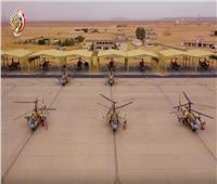 «القوات الجوية» تبرز مقاتلاتها الجديدة خلال افتتاح قاعدة برنيس العسكرية