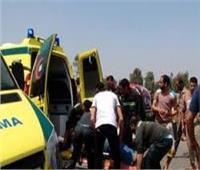 إصابة 15 عامل في انقلاب سيارة عمالة زراعية بأبو المطامير بالبحيرة