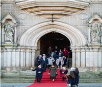بالصور والفيديو  أول ظهور علني لأفراد العائلة الملكية بعد أزمة هاري وميجان