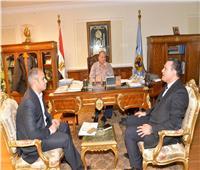 محافظ أسيوط يلتقى وفد برنامج التنمية المحلية لصعيد مصر