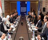في زيارتهم الأولى لمصر.. المشاط تلتقي المديرين التنفيذيين للبنك الدولي