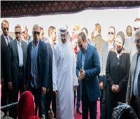 شاهد| الرئيس السيسي وولي عهد أبو ظبي يفتتحان مهرجان شرم الشيخ التراثي العربي