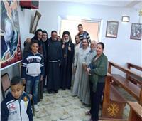 الأنبا بطرس والأنبا بشارة يزوران كنائس إيبارشية أبو قرقاص