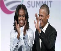 أوباما يحتفل بعيد ميلاد زوجته عبر «تويتر» | صور