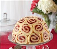حلو اليوم.. «السويسرول» بمربى الفراولة