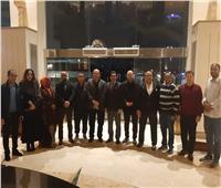 وصول وفود الدول المشاركة في حفل قرعة البطولة العربية للميني فوتبول