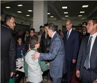 صور  وزير الداخلية يتفقد زيارة الطلبة الجدد بكلية الشرطة