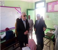سكرتير مساعد جنوب سيناء يتابع امتحانات الشهادة الإعدادية