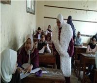 إحالة 12 ملاحظا للتحقيق.. وتحرير محضر غش لـ6 طلاب بكفر الشيخ