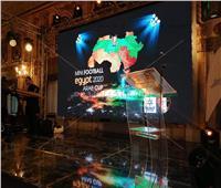 صور| استعدادات حفل قرعة البطولة العربية لمنتخبات «الميني فوتبول»
