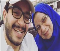 حسام داغر يتلقى عزاء والدته بمسجد الشرطة بأكتوبر غدا