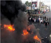 إضرام النار في مخيم احتجاج ببيروت وسط اشتباكات بين الأمن ومحتجين