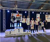 الأولمبية تهنىء اتحاد السلاح ومحمد حمزة بعد ذهبية بطولة الشباب بفرنسا