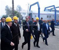 «الفريق التراس»: «سيماف» سيضاهي أفضل المصانع العالمية.. و«مدبولي»: لن نستورد أية عربة مرة أخرى
