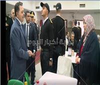 فيديو.. وزير الداخلية يزور الطلاب الجدد بكلية الشرطة