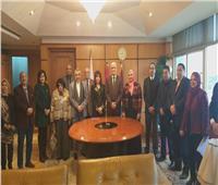 بروتوكول تعاون بين جامعة الفيوم واتحاد المستثمرات العرب