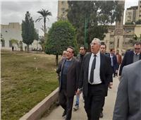 صور| وزير الزراعة يطالب بالاستفادة من أصول الدولة غير المستغلة