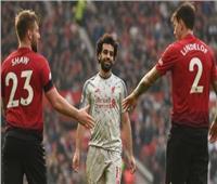 «محمد صلاح» على رأس تشكيل ليفربول أمام المان يونايتد