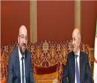 الرئيس الجزائري تبون يلتقي في برلين برئيس المجلس الأوروبي
