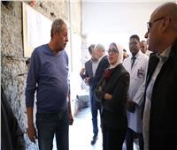 وزيرة الصحة تشيد بمعدل التجهيزات لرفع كفاءة وتطوير مستشفى الأقصر الدولي