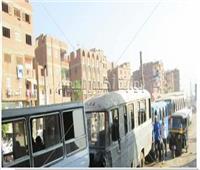 قبل وقوع الكارثة| نرصد بالصور.. سيارات بدون نمر وعربات متهالكة تجوب شوارع شبرا الخيمة