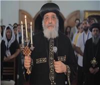 البابا تواضروس يصلي «لقان الغطاس» بالإسكندرية