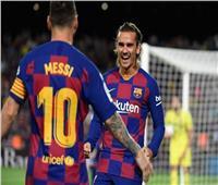 ميسي وجريزمان يقودان برشلونة أمام غرناطة