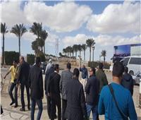 لجنة برلمانية تتفقد منتجعات مرسى علم للاطمئنان على خدمات السياحة..صور