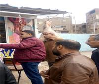 «سكرتير مساعد القليوبية» يتفقد المجازر ومحلات الجزارة بمدينة الخانكة