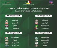 منتخب الشباب يصطدم بالجزائر.. تعرف على قرعة البطولة العربية