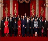 السيسي يشارك في حفل الاستقبال للرؤساء الأفارقة بقصر باكينجهام