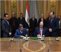 العصار يشهد توقيع بروتوكول بين الأكاديمية المصرية للهندسة والتكنولوجيا المتقدمة ومدينة زويل