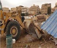 جهاز مدينة ٦ أكتوبر يشُن حملة لإزالة الإشغالات والتعديات بالمدينة