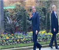 فيديو| السيسي يغادر مقر مجلس الوزراء البريطاني عقب مباحثاته مع جونسون