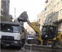 محافظ الجيزة يوجه بحملات نظافة بشارع الاقصر ودعمه بحاويات ثابتة