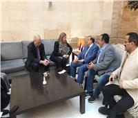 رئيس البرلمان اليمني يبحث مع وينترتون تعزيز العلاقات الثنائية