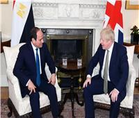 بريطانيا: السيسي وجونسون رحبا باستئناف الرحلات الجوية إلى شرم الشيخ