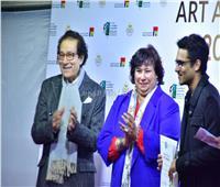 صور| وزيرة الثقافة تشهد حفل توزيع جوائز مسابقة مؤسسة فاروق حسني