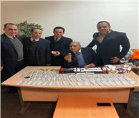 ضبط سويسري حاول تهريب حشيش وأفيون بمطار القاهرة