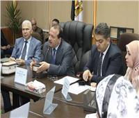 رئيس جامعة طنطا يترأس اجتماع كلية الطب