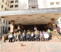 وفد جامعة الزرقاء الأردنية يختتم زيارته إلى جامعة أسيوط